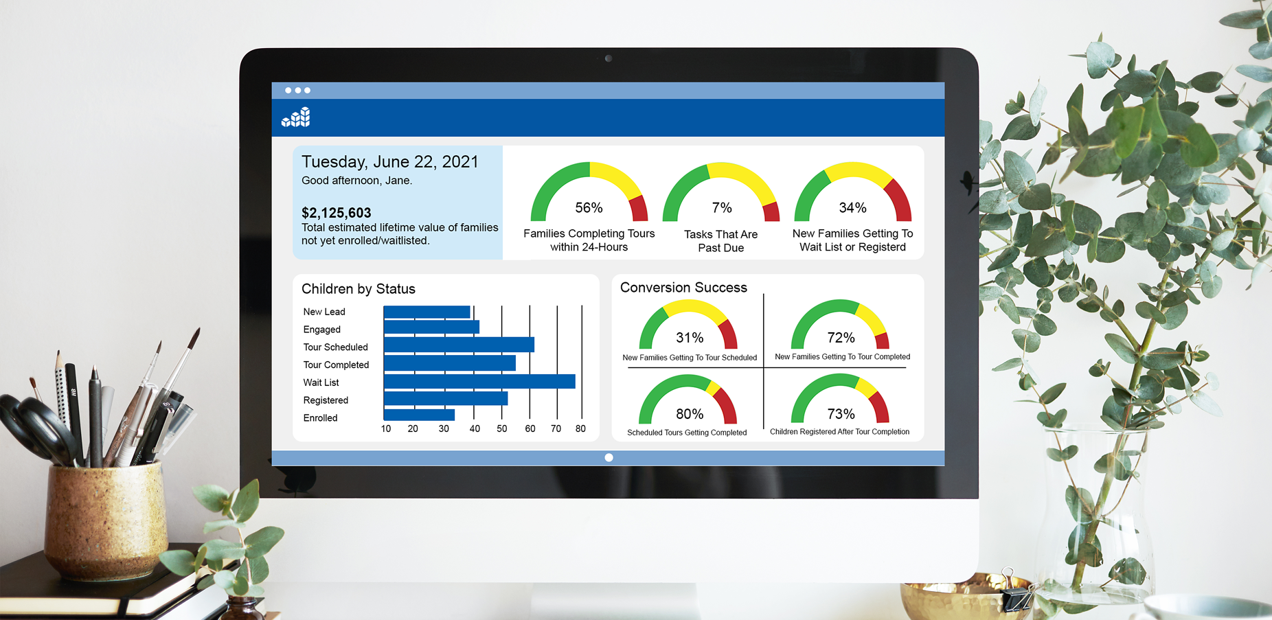 CRM+ dashboard- In Use-8